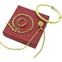 Mes-Bijoux-Bracelets Parure Doré Or Jaune 750 00 18K carats Bijou Fantaisie 7d1a003d8c6d