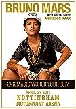 Generic Bruno Mars 24K Magic World Tour 2017Nottingham