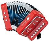 ItsImagical - Conservatory acordeón de iniciación para niños de color rojo (Imaginarium 77133)