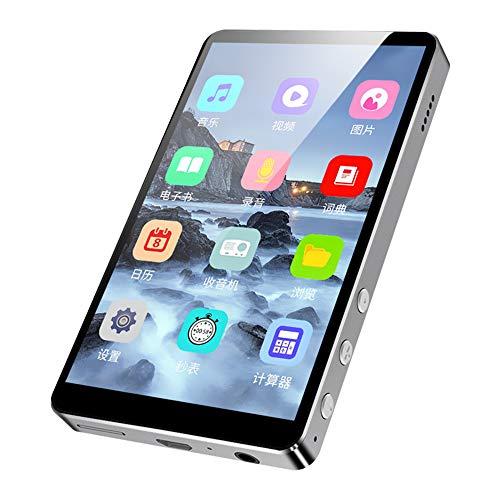 Yehyep MP3-Player, 8GB Bluetooth MP3 / MP4-Player Mit Radio/Calculator Funktion / 4 Zoll-Full Screen/Englisch-Chinesisch Elektronisches Wörterbuch/Support 64GBT.F Card Erweiterung
