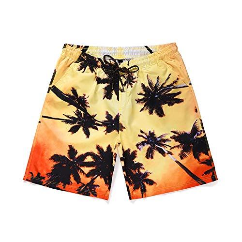 Jugend 6-pocket Pant (CHLCH Herrenshorts, BaumwollkordelnSeaside Coconut Grove Print Strandhose 01 L)