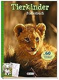 Tierkinder Posterbuch: Über 60 Farbposter und Ausmalbilder