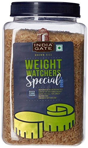 India Gate Brown Rice, 1kg Jar