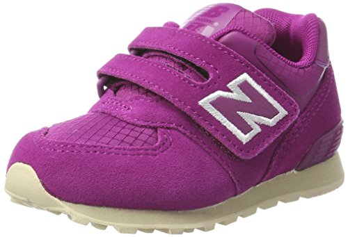 New Balance, Unisex-Kinder Sneaker, Violett (Purple), 23.5 EU (6.5 UK Child) (Baby Mädchen Turnschuhe New Balance)