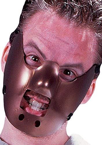 nnibal Lector Lecter Gesichtsmaske Halloween Kostüm Verkleidung Zubehör ()