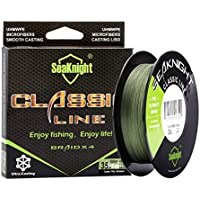 SeaKnight   Classic Line   Más Delgado, Más Resistente   Línea de Pesca   Color Verde   15 LB   0.14 mm   500 MT