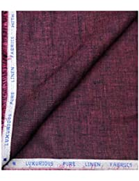 Raymond Luxuriovs Pure Linen Fabrics with Superior Handle and Feel Unstitched Suit Fabric - 3 Metres
