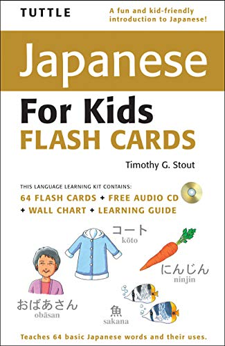 Tuttle Japanese for Kids Flash Cards (Tuttle Flash Cards) - Japanische Für Kinder Flash-karten