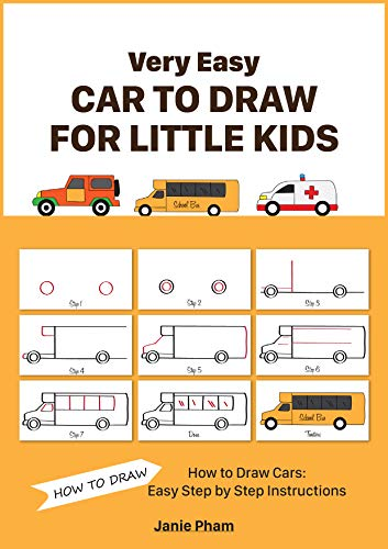 Very Easy Car To Draw For Little Kids How To Draw Cars Easy
