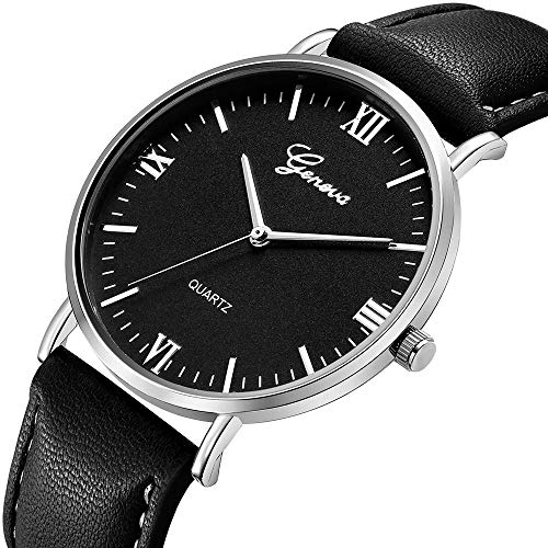 Damen Luxury Edelstahl Quarz Armbanduhr Lederarmband Braun Elegant Geschäft Uhren Ultradünn Wasserdicht Jeden Tag Freizeit Analog Quarz Armbanduhr