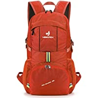 NEEKFOX Lightweight Packable Travel Hiking Backpack Daypack,35L Foldable Camping Backpack,Ultralight Sport Outdoor Backpack …