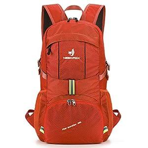 NEEKFOX Mochila Ligera y compacta para Viaje, Excursionismo o Uso Diario, Mochila para Acampar Plegable de 35 L, Mochila…