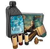 Hazet Schlagschrauber 9012 SPC + Öler + 3 Schlagschraubernüsse 17, 19, 21 + 1 Liter Öl - Paket 4