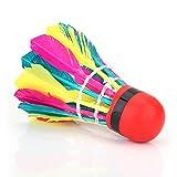 11Pcs Volani per Badminton Durevole Palline da Badminton per Interni Gioco di Allenamento All'aperto