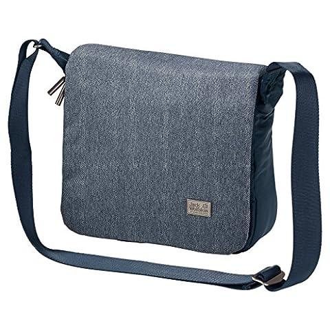 Jack Wolfskin Wolle techling Messenger Bag, Dark Sky, 3/5L