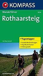 Rothaarsteig: Wanderführer mit Tourenkarten und Höhenprofilen (KOMPASS-Wanderführer, Band 5224)