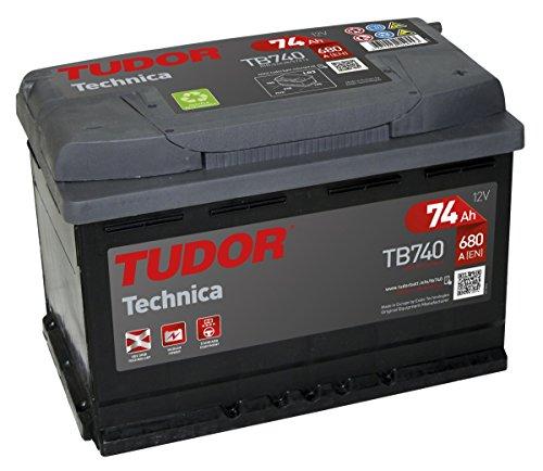 Preisvergleich Produktbild TB740 Exide Tudor Autobatterie High Tech Carbon Boost 12V 74Ah