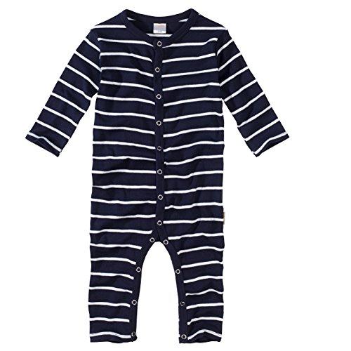 Marine-blau Pyjama (wellyou Baby und Kinder Schlafanzug/Pyjama aus Baumwolle in Marine weiß, Blau, 104 - 110)