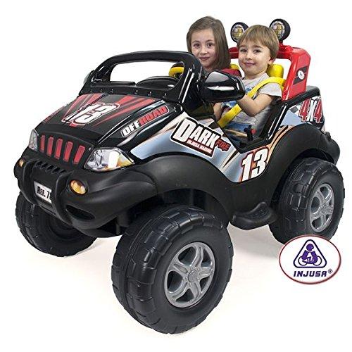 Injusa - Coche Dark Fire recomendado para niños de más de 3 años,...