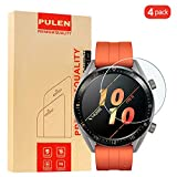 [2 Pack] PULEN Kompatibel with Huawei Watch GT Elegant (42mm) Panzerglas Schutzfolie, 9H Glas Bildschirm schutzfolie [Anti-Kratzen] [Bubble-frei][Fingerabdruck-frei] HD Klar Blasenfreie folie
