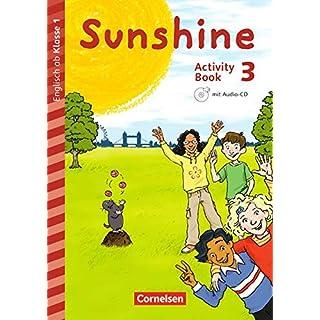 Sunshine - Early Start Edition - Neubearbeitung und Nordrhein-Westfalen Neubearbeitung: 3. Schuljahr - Activity Book: Mit Audio-CD, Minibildkarten und Faltbox