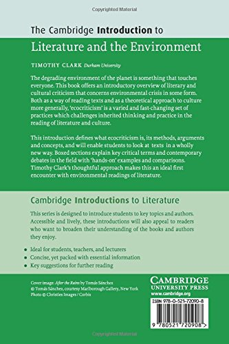 The Cambridge Introduction to Literature and the Environment Paperback (Cambridge Introductions to Literature)