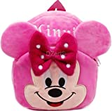 #8: Kids School Bag Soft Plush Backpack Cartoon Toy, Children's Gifts Boy Girl/Baby/ Decor School Bag for Kids (Minnie)
