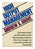 High-Output Management