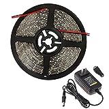 Generic Red : Waterproof LED Strip 300leds/5M 3528 LED lamps SMD RGB Lights IP65 LED Ribbon Tape set+RGB Controller+12V Power Supply, luz led