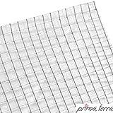 prima terra Nagetiergitter, Nagergitter, Mausgitter, Stahlgitter, Nagerdraht, Wühlmausgitter für Hochbeet bis 200x100cm
