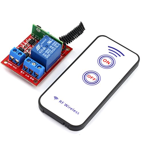 generic 12v one channal rf wireless relay module with remote control Generic 12V One Channal RF Wireless Relay Module with Remote Control 51JpTzypp3L