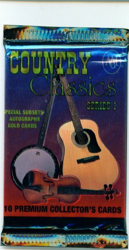 Country Classics Series 1 Trading Card Pack -