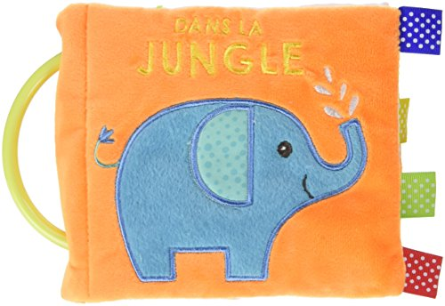Dans la jungle - Tissu (Livre tissu)