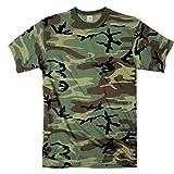 Estrella y rayas - Army camouflage camiseta in adult