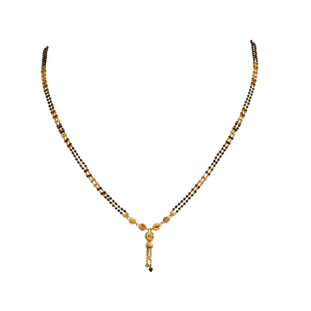 Joyalukkas Bandhan Mangalsutra Collections 22K Yellow Gold Necklace for Women
