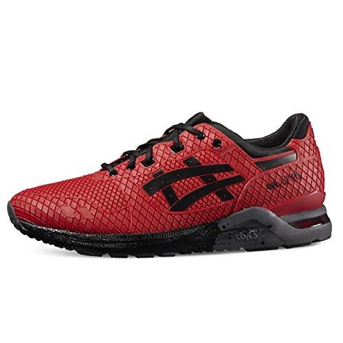 Asics - Gel Lyte Evo - Sneakers Homme rouge/noir