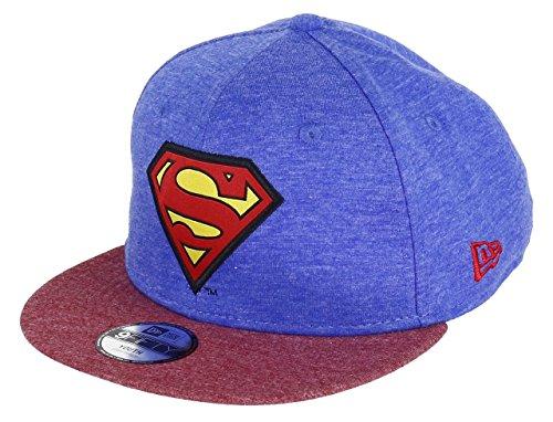 New Era Kinder Kappe Character Jersey 9FIFTY Snapback Superman Youth
