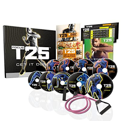 Shaun T's FOCUS T25 DVD Workout Programme from Beachbody