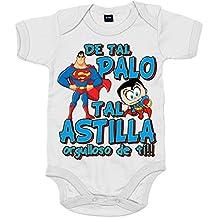 Body bebé Superman de tal palo tal astilla orgulloso de ti