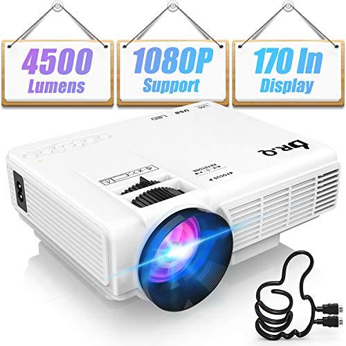 DR.Q HI-04 Projector 1080P Full ...