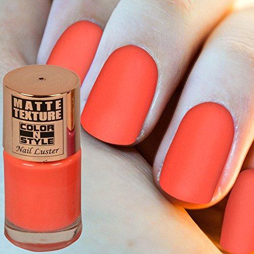 COLOR N STYLE MATTE TEXTURE Nail Paint MT 14, 9.9 ml