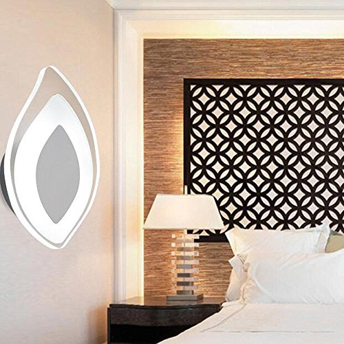 LED 4W Wandleuchten Nachttisch Wohnzimmer Wandleuchte Korridor Gang Acryl Lampenschirm Wand Lampe Moderne Einfache Persönlichkeit...