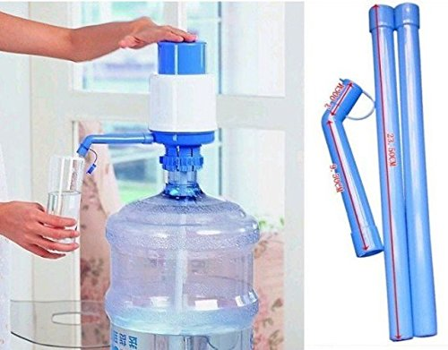 Water Bottle Water Dispenser Manual Hand Press Pump Bottled Water Pump Best Quality pump.  available at amazon for Rs.199