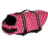 Running Pet Haustier Hunde Rettungsweste Schwimmtraining Hundeweste Schwimmweste Schwimmhilfe Life Jacke Wassersport XS-XL