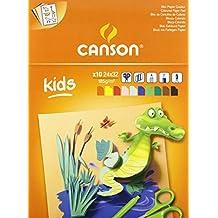 CANSON Zeichenpapier Bristol 240 x 320 mm 250 g//qm 12 Blatt