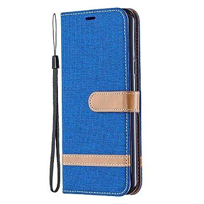 Tosim-LG-K50-LG-Q60-Hlle-Leder-Klapphlle-mit-Kartenfach-Brieftasche-Lederhlle-Stossfest-Handyhlle-Klappbar-Case-fr-LG-K50-LG-Q60
