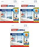 tesamoll® Thermo Cover Fensterisolierfolie (4,0m:1,5m / 3er Pack)