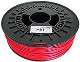 German RepRap ABS Filament, 750 g, 3 mm, rot