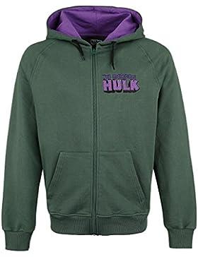 Hulk Incredible Hulk Sudadera con capucha Verde