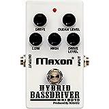 Maxon BD10 Hybrid Bass Driver pédale overdrive pour basse/guitare